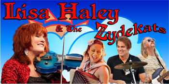 Lisa Haley & the Zydekats Poster
